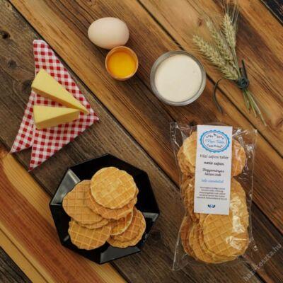 kézműves sajtos tallér