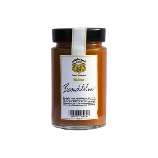 cukormentes mézes baracklekvár